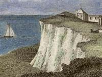 Engraving of Cliffs at Broadstairs