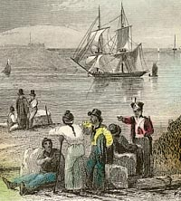 Engraving of Plymouth
