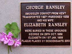 Photograph of Ransley memorial